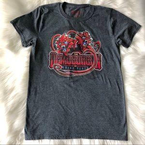 Dungeons & Dragons Demogorgon Grey T-Shirt Men's S